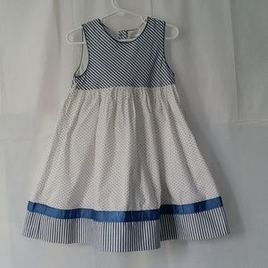 Girls Dress Size 4T Dressy Party Sleeveless Summer
